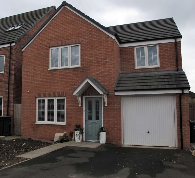 4 Bedrooms Detached House for sale in Culey Green Way, Birmingham