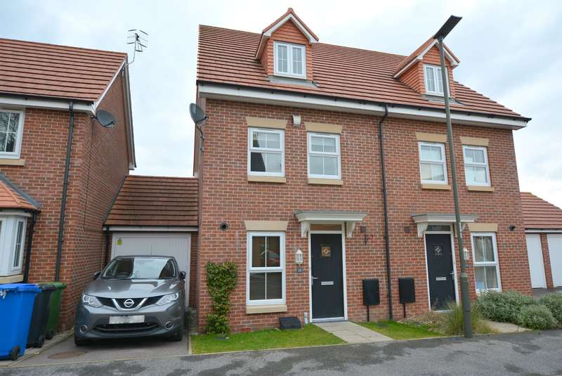 3 Bedrooms Semi Detached House for sale in Maudesley Avenue, Chesterfield S40 2FY