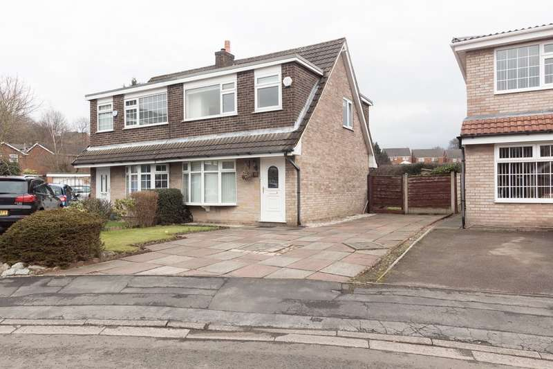 3 Bedrooms Semi Detached House for sale in Sandringham Drive, Heaton Mersey, Stockport