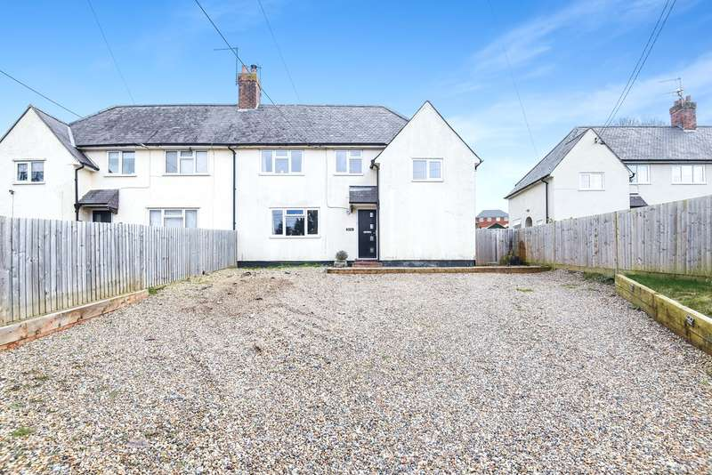 4 Bedrooms Semi Detached House for sale in Station Road, Overton, Basingstoke, RG25