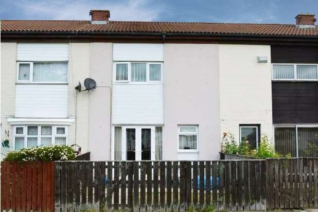 2 Bedrooms Terraced House for sale in Scarfell Close, Peterlee, Durham, SR8 5PF
