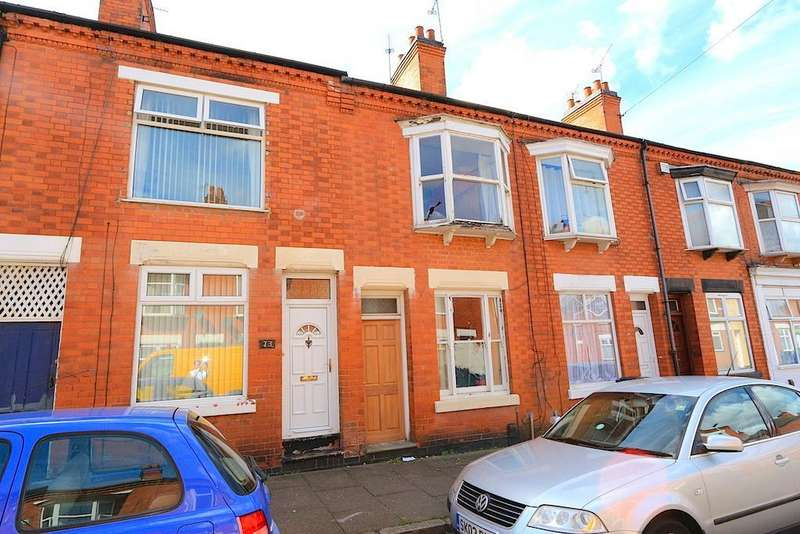 2 Bedrooms Terraced House for sale in Mountcastle Road, Leicester