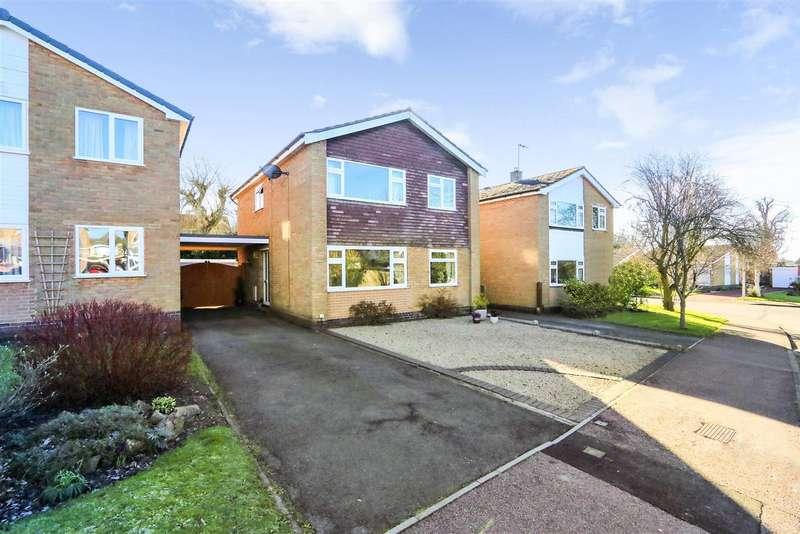 4 Bedrooms Property for sale in Willesley Gardens, Ashby-De-La-Zouch,...