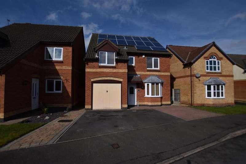 4 Bedrooms Property for sale in Juniper Way, Loughborough