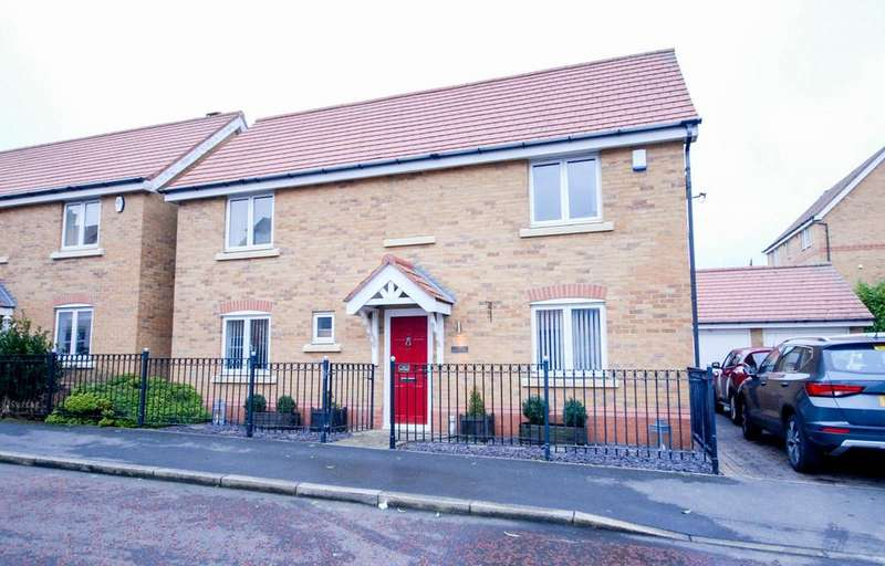 3 Bedrooms Detached House for sale in Barmoor Drive, Great North Park