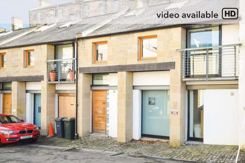 3 Bedrooms Terraced House for sale in Annandale Street Lane, New Town, Edinburgh, EH7 4LS
