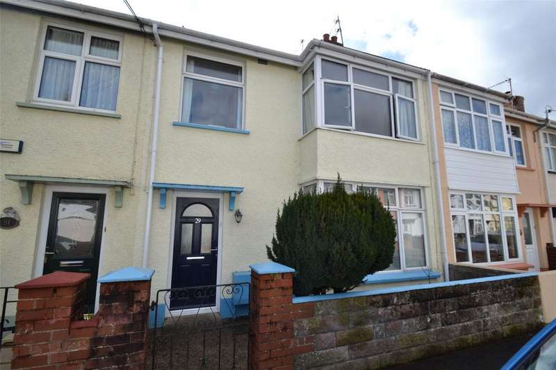 3 Bedrooms Terraced House for sale in Broadfield Road, Barnstaple