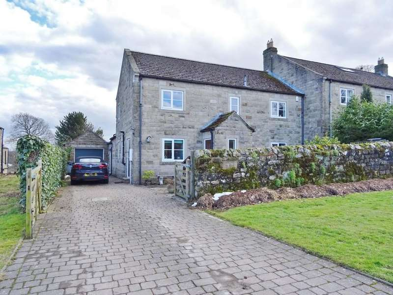 4 Bedrooms Semi Detached House for sale in Fearby, Ripon