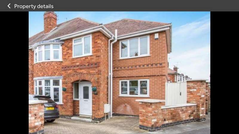 4 Bedrooms Semi Detached House for rent in Cardinals Walk, Leicester