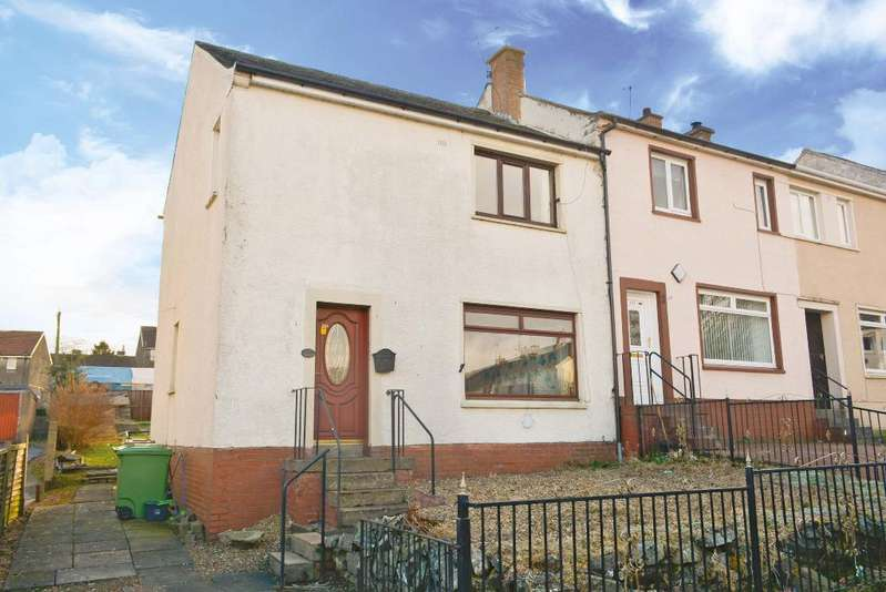 3 Bedrooms End Of Terrace House for sale in Churchill Street, Alloa, Stirling, FK10 2JU