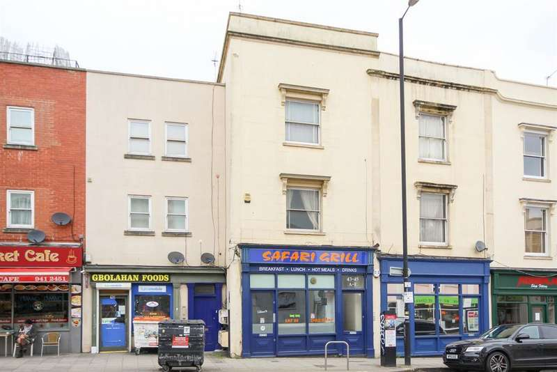1 Bedroom Flat for sale in West Street, Old Market, St. Philips, Bristol
