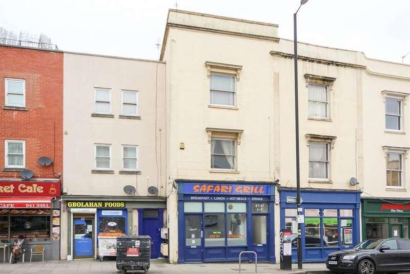 1 Bedroom Flat for sale in West Street, Old Market, St. Philips, Bristol