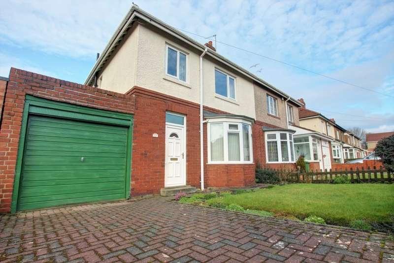 3 Bedrooms Semi Detached House for sale in Brixham Avenue, Gateshead, NE9