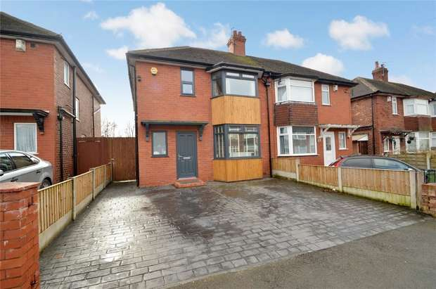 3 Bedrooms Semi Detached House for sale in Petersburg Road, Edgeley, Stockport, Cheshire