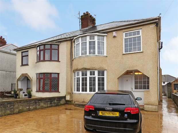 3 Bedrooms Semi Detached House for sale in Gelli Road, Llanelli, Carmarthenshire