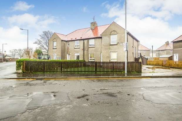 3 Bedrooms Flat for sale in Park Road, Girvan, South Ayrshire