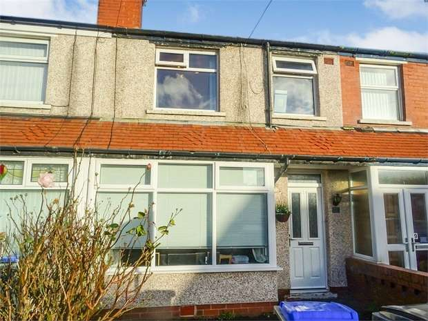 3 Bedrooms Terraced House for sale in Pickmere Avenue, Blackpool, Lancashire