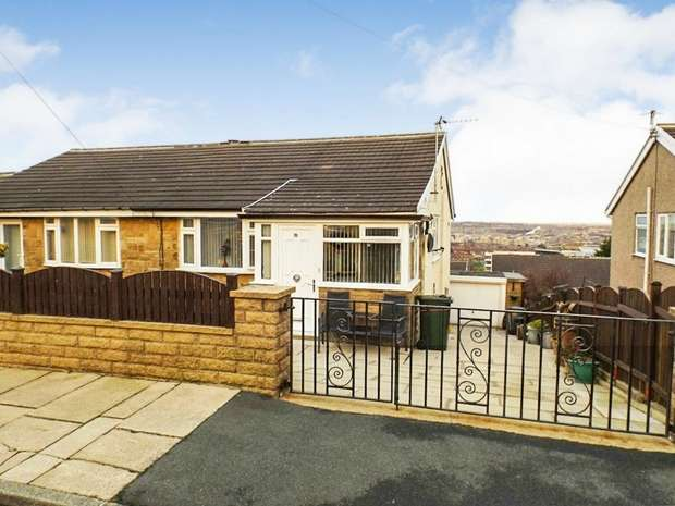 2 Bedrooms Semi Detached Bungalow for sale in Watty Hall Road, Bradford, West Yorkshire