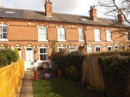 3 Bedrooms Terraced House for sale in Midland Cottages, West Bridgford, Nottingham, Nottinghamshire