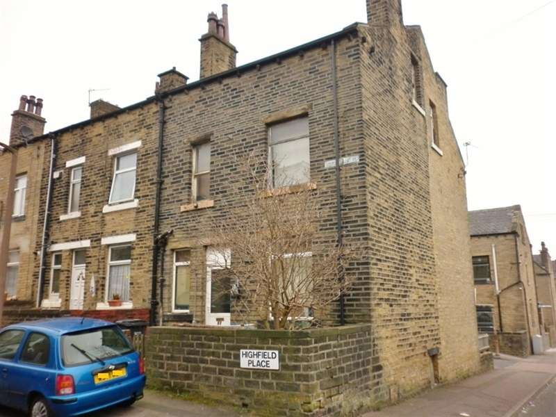 2 Bedrooms End Of Terrace House for sale in Highfield Place, King Cross, Halifax, HX1 3PX