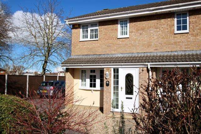 3 Bedrooms Terraced House for sale in Sandpiper Road, Bridgwater
