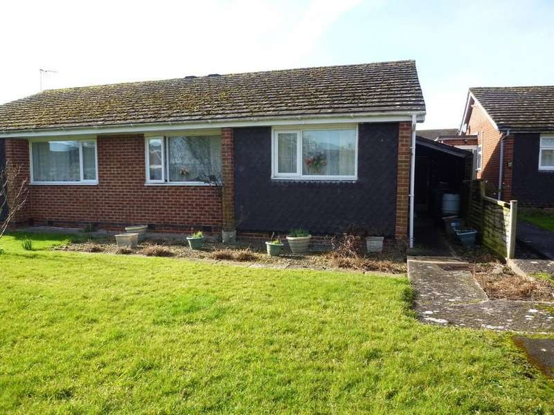 2 Bedrooms Semi Detached Bungalow for sale in Trowbridge, Wiltshire
