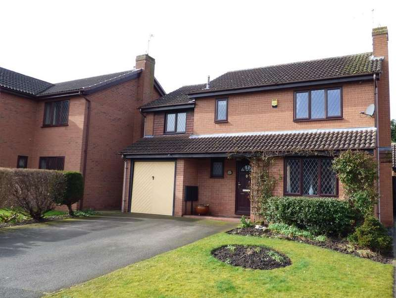 4 Bedrooms Detached House for sale in Ivy Grove, Burton-on-Trent