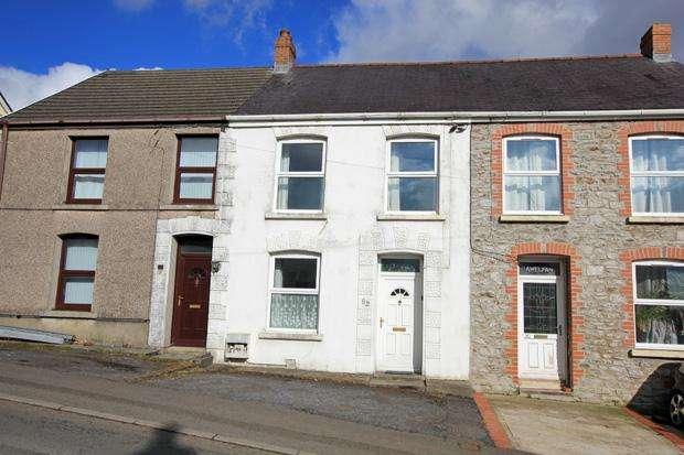 3 Bedrooms Terraced House for sale in Heol Y Banc, Bancffosfelen, Pontyberem, Carmarthenshire