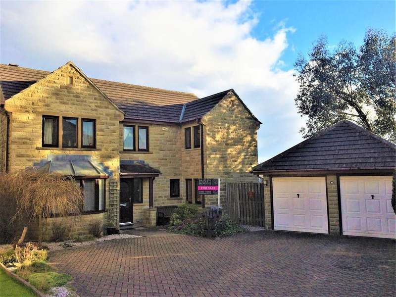 5 Bedrooms Detached House for sale in Hawthorne Way, Shelley, Huddersfield, HD8 8JX