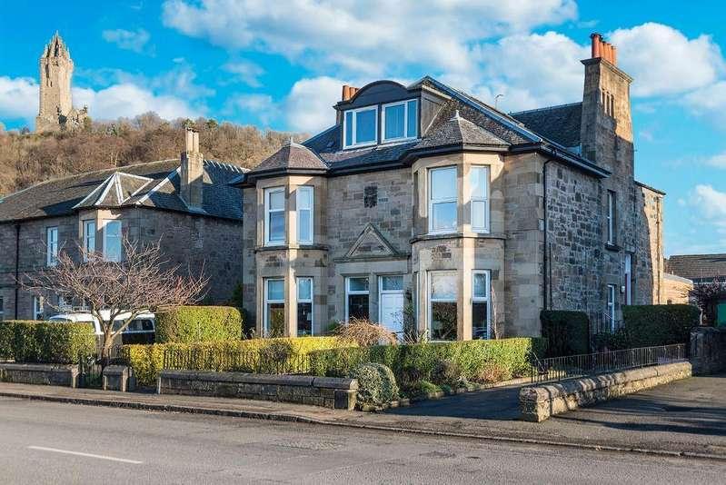 5 Bedrooms Semi Detached House for sale in Causewayhead Road, Causewayhead, Stirling, Scotland, FK9 5EG