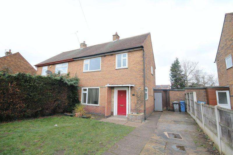 3 Bedrooms Semi Detached House for sale in Thorndike Avenue, Derby