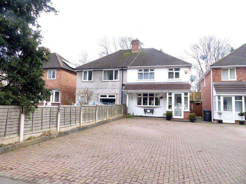 3 Bedrooms Semi Detached House for sale in Queslett Road, Great Barr
