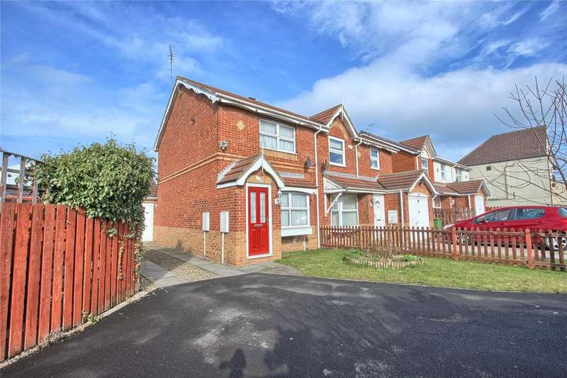 2 Bedrooms End Of Terrace House for sale in Sandringham Road, Redcar