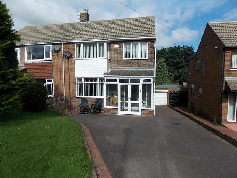 3 Bedrooms Semi Detached House for sale in Shepherds Way, West Boldon