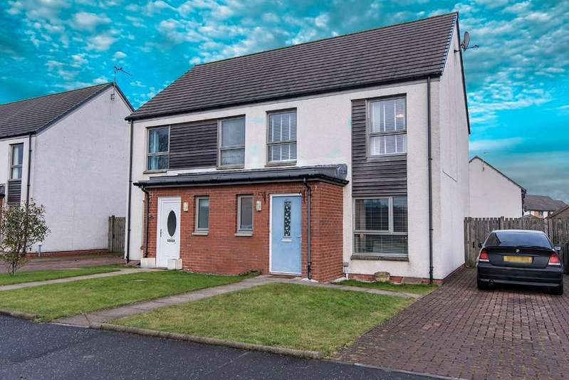 3 Bedrooms Semi Detached House for sale in Raploch Road, Stirling, FK8 1RS