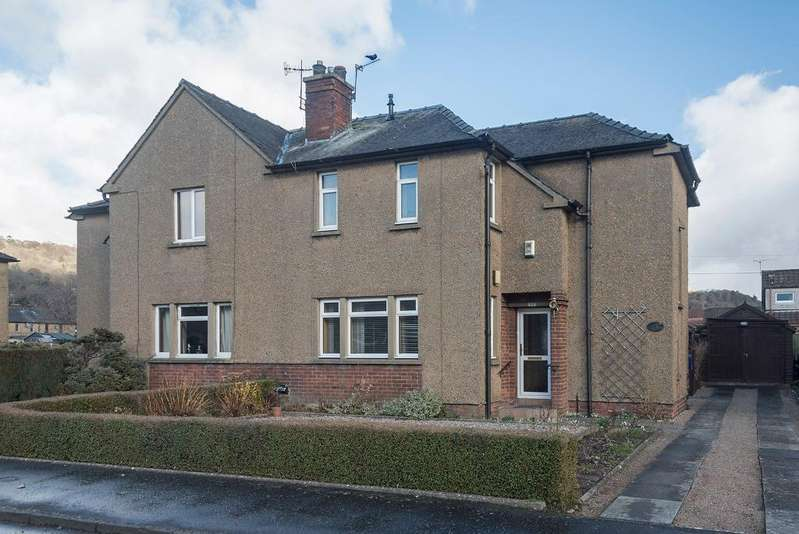 3 Bedrooms Semi Detached House for sale in Strathallan Road, Bridge of Allan, Stirling, Scotland, FK9 4BS