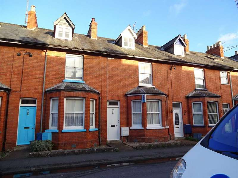 3 Bedrooms Terraced House for rent in Seymour Terrace, Tiverton, Devon, EX16