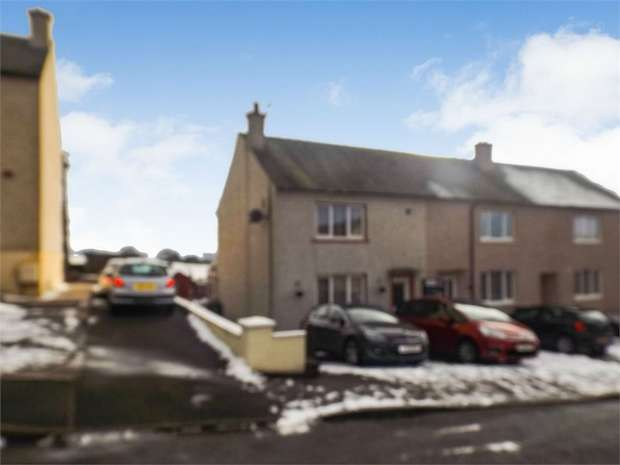 2 Bedrooms End Of Terrace House for sale in Rosebank Crescent, Lockerbie, Dumfries and Galloway