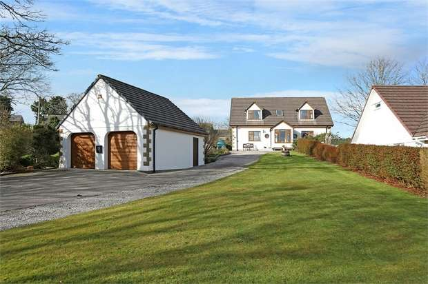 4 Bedrooms Detached House for sale in Carnkie, Helston, Cornwall