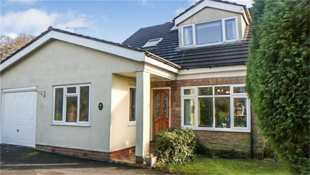 5 Bedrooms Detached House for sale in Bradwell Lane, Cannock Wood, Staffordshire
