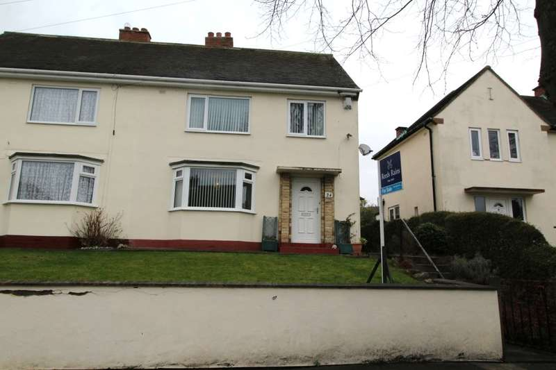 3 Bedrooms Semi Detached House for sale in Hallow Drive, Throckley, Newcastle Upon Tyne, NE15
