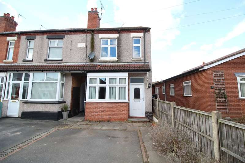 3 Bedrooms Semi Detached House for sale in Saunders Avenue, Bedworth, CV12