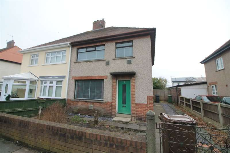 3 Bedrooms Semi Detached House for sale in Boundary Road, Litherland, Merseyside