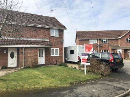 2 Bedrooms Semi Detached House for sale in Church View Close, Donington, Spalding, Lincolnshire