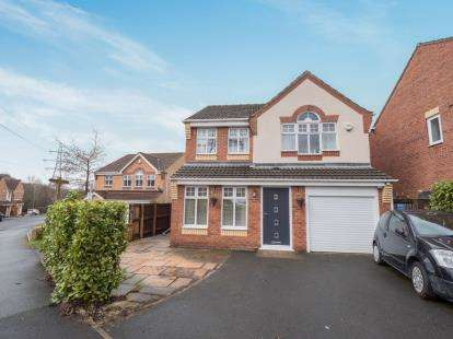 4 Bedrooms Detached House for sale in Alphingate Close, Stalybridge, Cheshire, United Kingdom