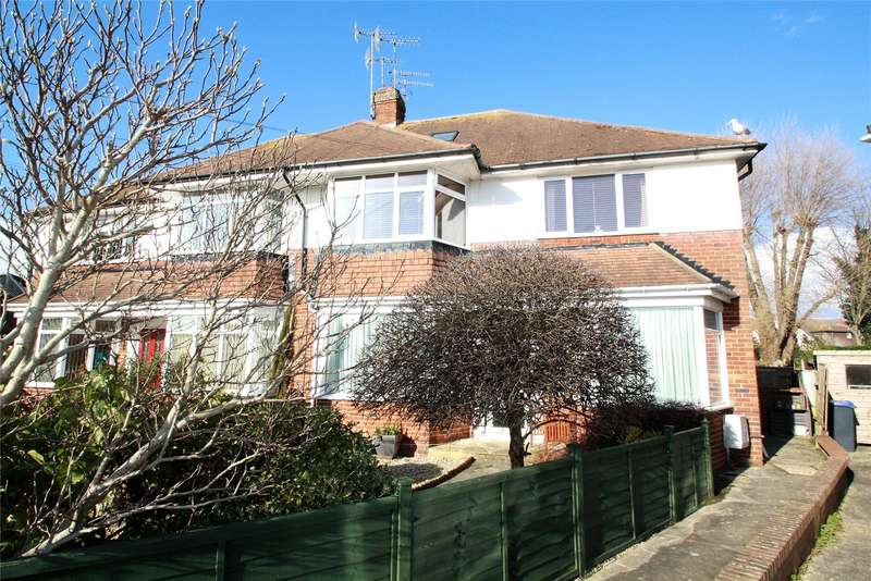 3 Bedrooms Maisonette Flat for sale in Chesham Close, Goring By Sea, Worthing, BN12