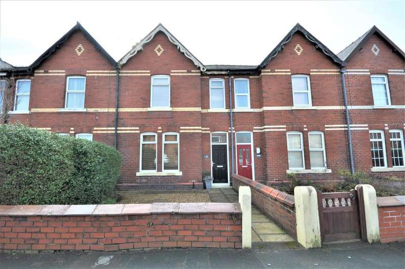 3 Bedrooms Terraced House for sale in Curzon Road, St Annes, Lytham St Annes, Lancashire, FY8 3SY
