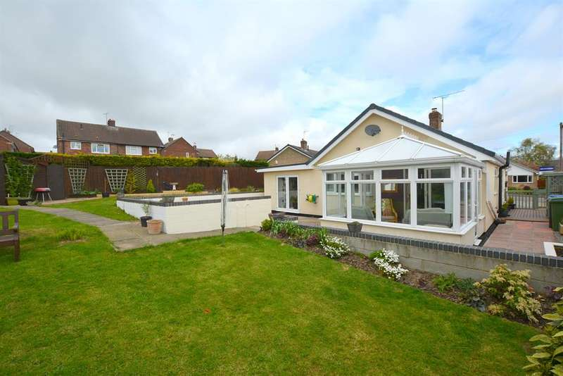 3 Bedrooms Detached Bungalow for sale in Beeley Close, Inkersall, Chesterfield, S43