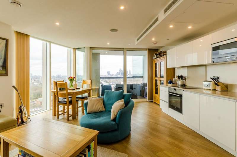 1 Bedroom Flat for sale in Surrey Quays Road, Canada Water, SE16