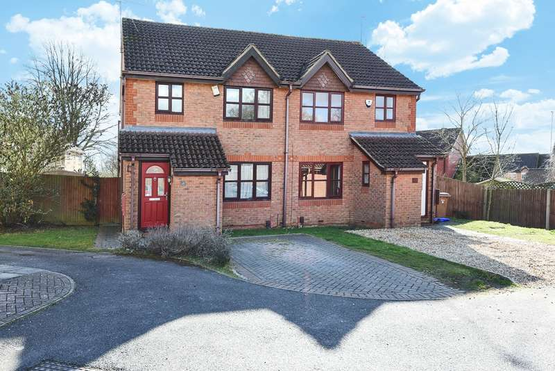 3 Bedrooms Semi Detached House for sale in Montague Close, Wokingham, RG40